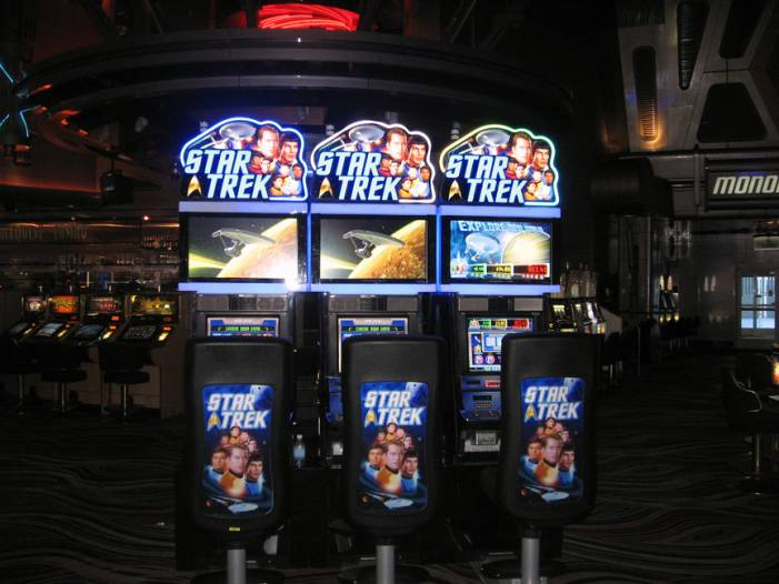 star trek slot machine game